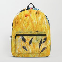 Bicycle in the field Backpack