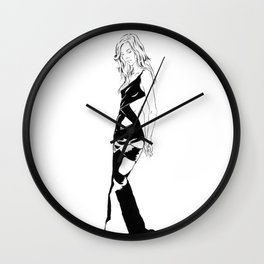 Seductive Bonds Wall Clock