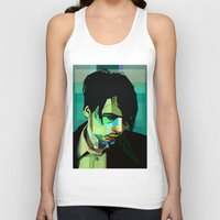 wes anderson Tank Tops featuring Brett Anderson by zomplag