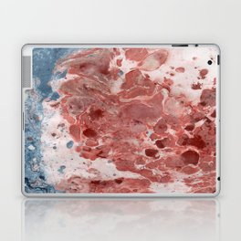 Marble art :  Beach side Laptop & iPad Skin