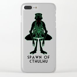 Spawn of Cthulhu Clear iPhone Case