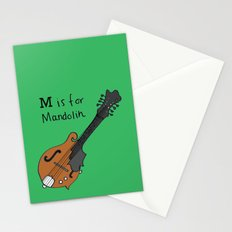 M is for Mandolin Stationery Cards