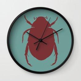 Egyptian Scarab - Beetle Wall Clock