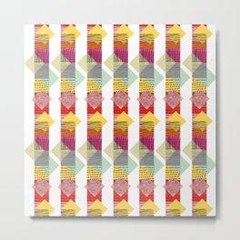 Skyscraper Geometric Metal Print