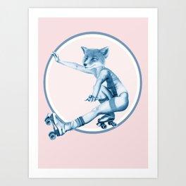 Menagerie Fox Art Print