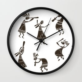 kokopelli Wall Clock