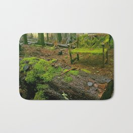 Enchanting forest Bath Mat