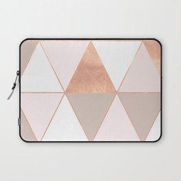 GEO TIKKI - ROSEGOLD PASTEL Laptop Sleeve