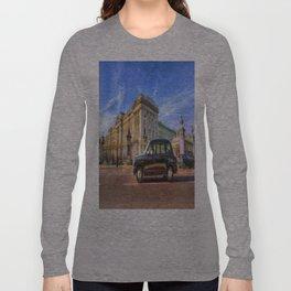 Taxi Buckingham Palace Long Sleeve T-shirt