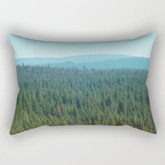 rolling pines Rectangular Pillow