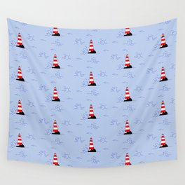 Lighthouses Wall Tapestry