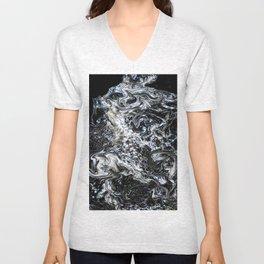 Universum Black Unisex V-Neck