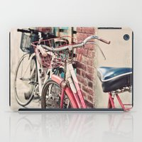 bicycles iPad Cases featuring Bicycles by Yolanda Méndez