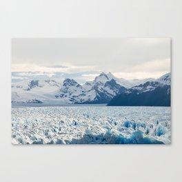 El Gran Perito Moreno in Argentina Canvas Print
