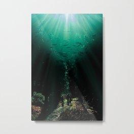 Sea In The Sky Metal Print
