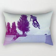 BMX Skatepark Rectangular Pillow