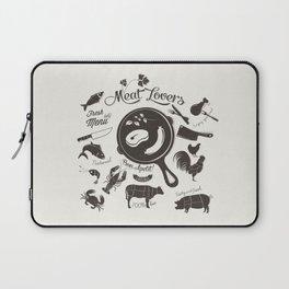 Meat Lovers Laptop Sleeve