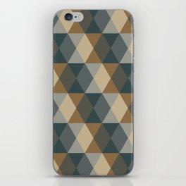 Caffeination Geometric Hexagonal Repeat Pattern iPhone Skin