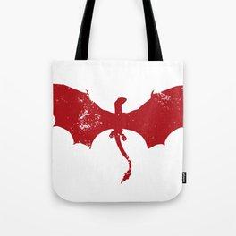 Vintage Game Dragon Tote Bag