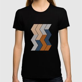 Modern Fall Winter Color Pattern T-shirt