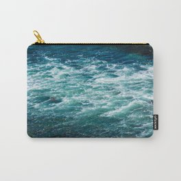 Blues and Greens Carry-All Pouch
