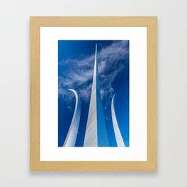 Steel Spires Toward Heaven Framed Art Print