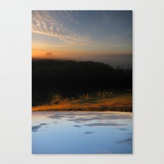 Rivers of Day & Lakes of Night Canvas Print