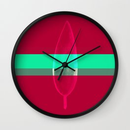 """""""Feathered Illusions"""" Wall Clock"""