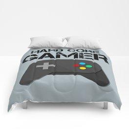 Game Console Black Joystick Comforters