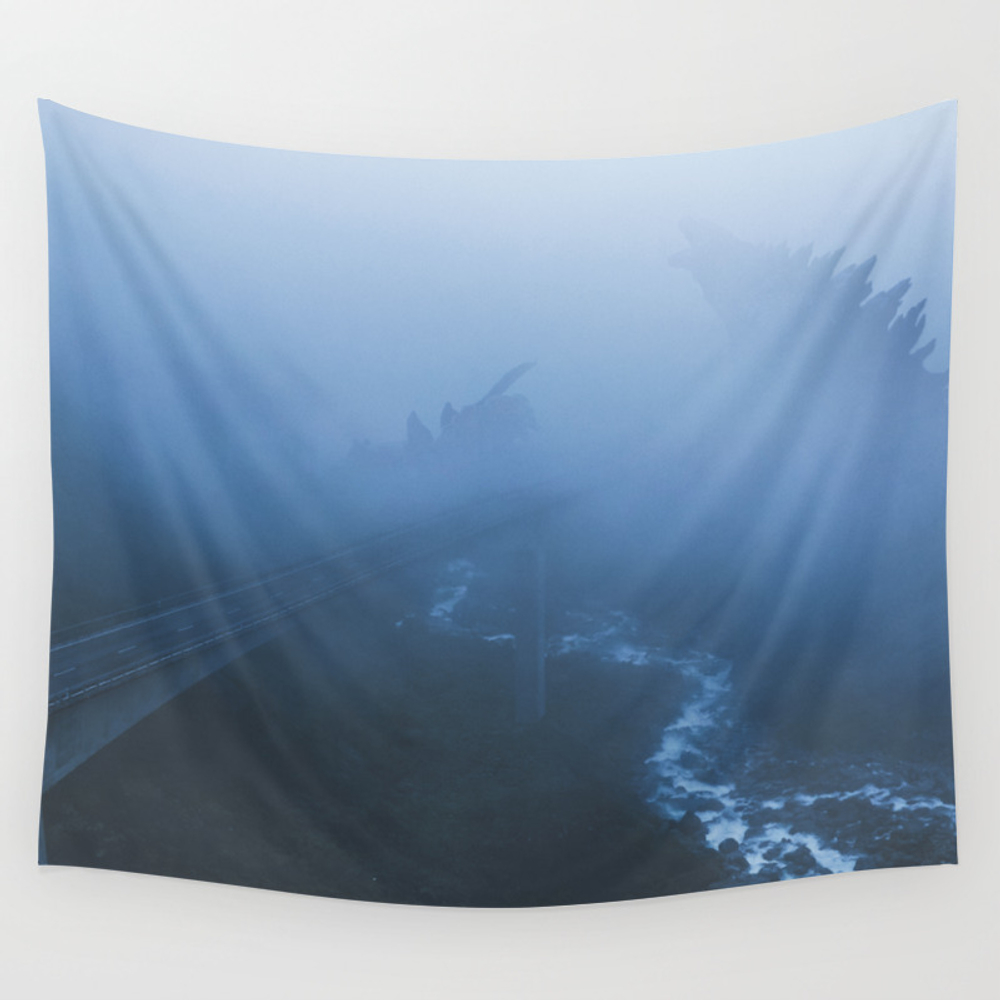 Monster Brawl Wall Tapestry by Goljakoff TPS7741908
