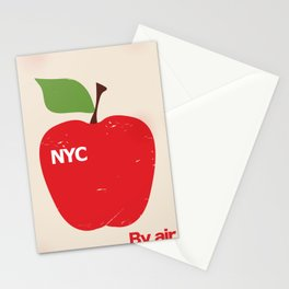 NYC Airliner poster Stationery Cards