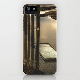 Washington Boat Launch Dock iPhone Case
