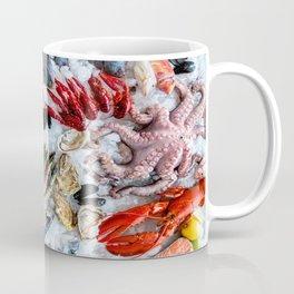 seafood on ice Coffee Mug
