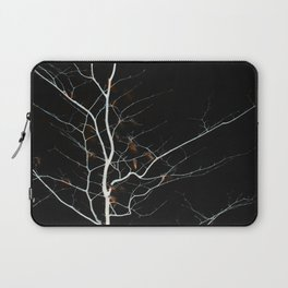 night fire tree Laptop Sleeve
