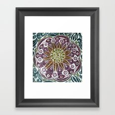 Passion Flower Framed Art Print