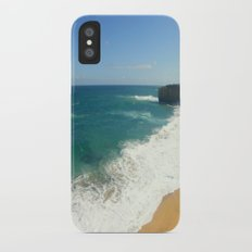 Beach iPhone X Slim Case