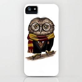 Owly Wizard iPhone Case