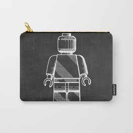 Lego Man original Lego patent Carry-All Pouch