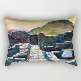 Delos Island, Greece Rectangular Pillow