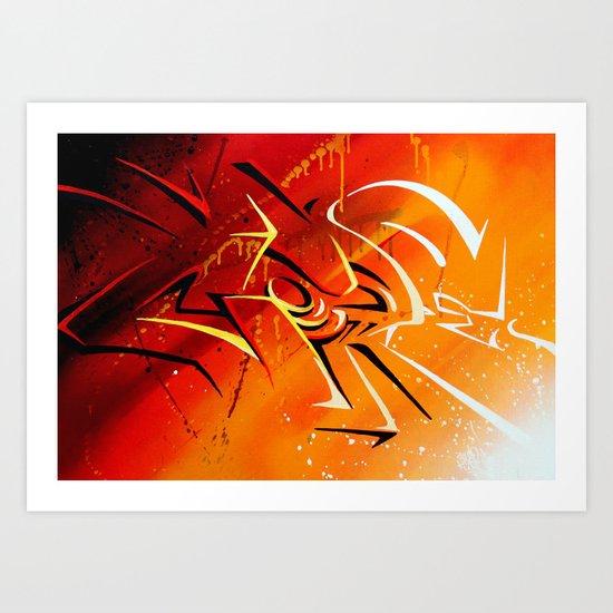 Light n' shad Art Print