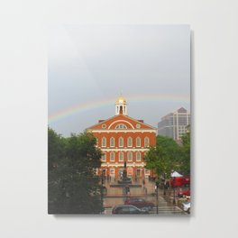 Faneuil Hall Sunset Metal Print