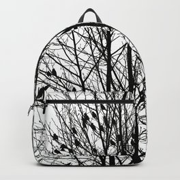 Winter Birds Backpack