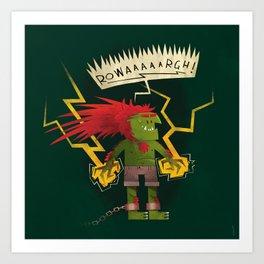 Electric Thunder Art Print