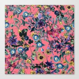 Surreal Floral Canvas Print