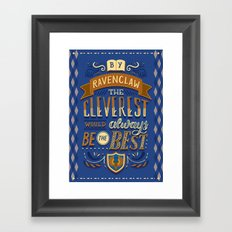 Cleverest Framed Art Print
