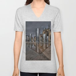 Artwork in the City Unisex V-Neck