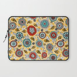 Bees & Blooms Laptop Sleeve
