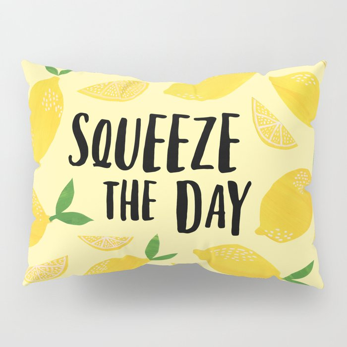 Squeeze the Day Pillow Sham
