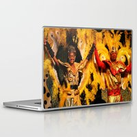 carnival Laptop & iPad Skins featuring Carnival by Trevor Jolley