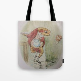 Jeremy Fisher by Beatrix Potter Tote Bag